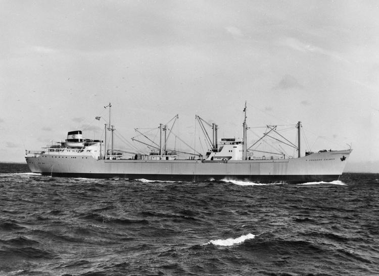 Fartyget 150 M/S Frances Salman.