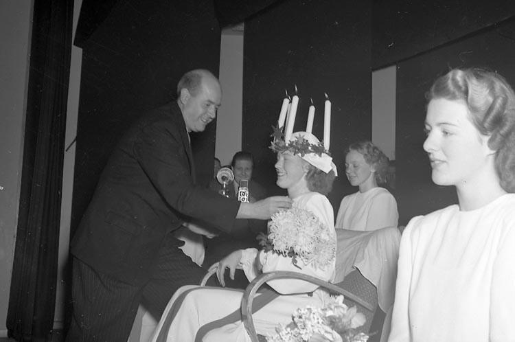 """Enligt notering: """"U-a Lucia (Kuriren) 13/12 1948""""."""