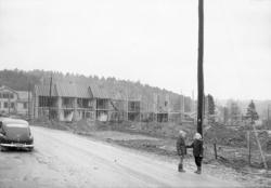 Byggandet av Helendalsvägen 16