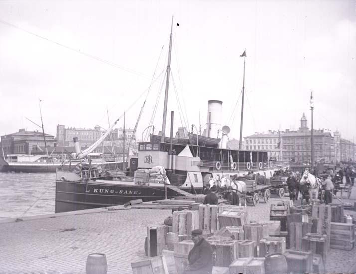 """Enligt text som medföljde bilden: """"Göteborg, Stenpiren."""""""