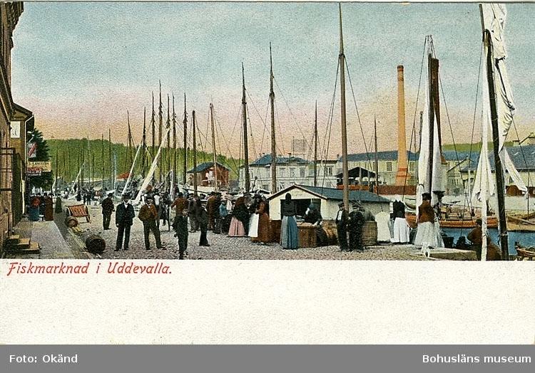 """Fiskmarknad i Uddevalla""."