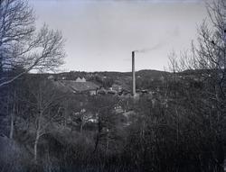 """""""1931. 35. Munkedals Fabrik från Väster. Mycket bra plåt."""""""