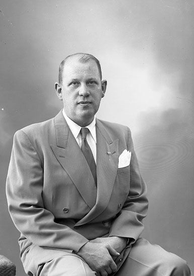 "Enligt fotografens journal nr 7 1944-1950: ""Warrby, Herr Kåkenäs""."