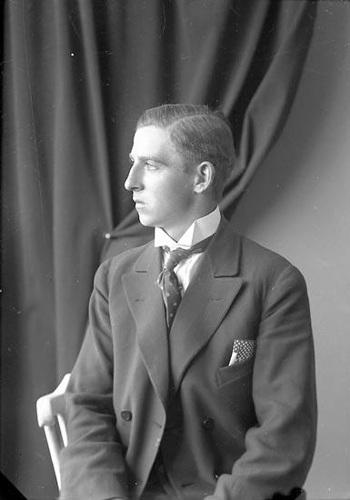 """Enligt fotografens journal nr 3 1916-1917: """"Thorsson, Valdemar Här""""."""