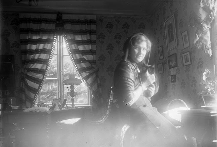 Kvinna i hemmiljö