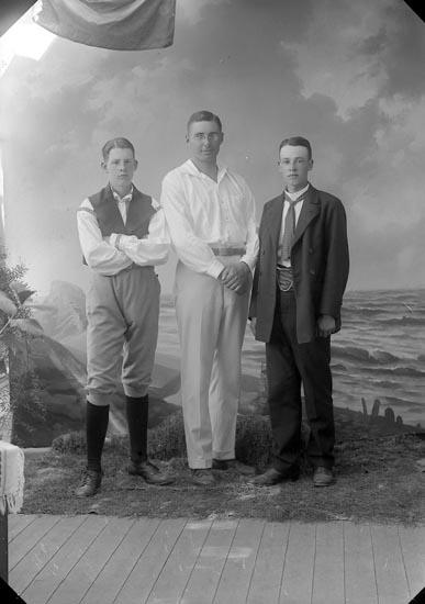 """Enligt fotografens journal nr 3 1916-1917: """"Silwan, Kandidat Här""""."""
