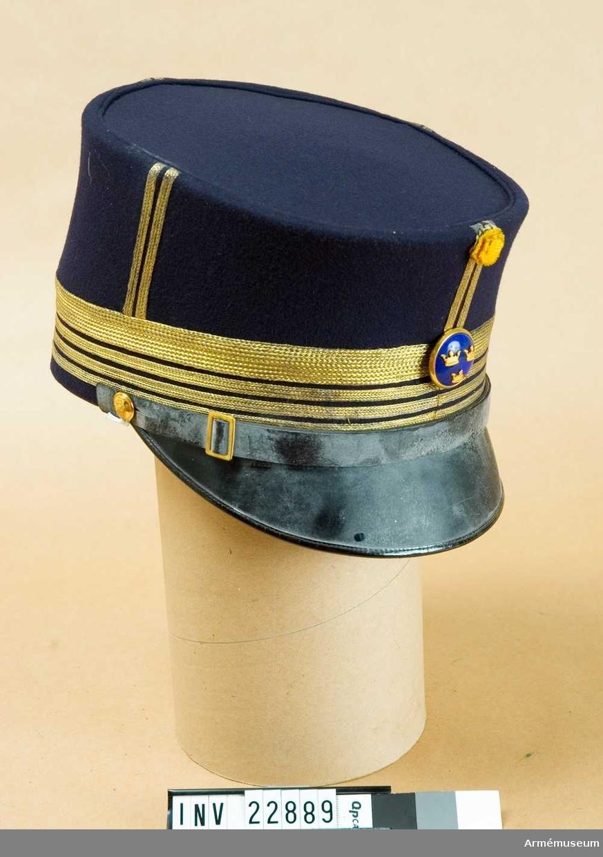 Grupp C I. Ur uniform för officer, överste, vid Skaraborgs regemente.