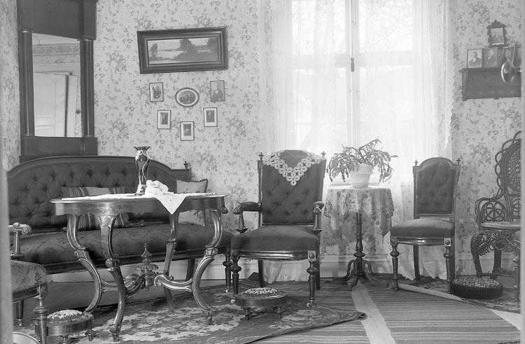 """Enligt fotografens journal nr 7 1944-1950: """"Rehnbergska hemmet Strandnorum""""."""