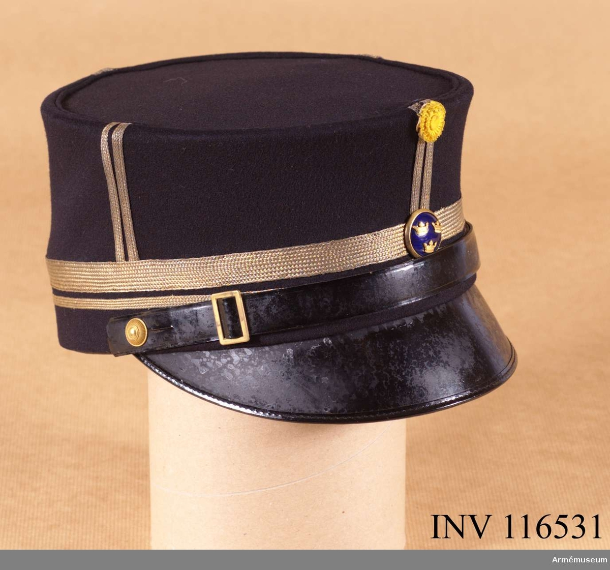 Grupp C I. Uniform för major vid Upplands artilleriregemente.