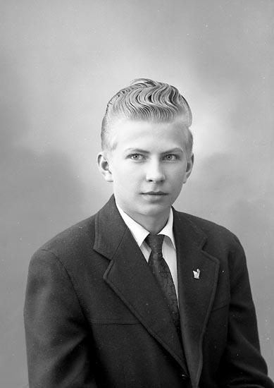 """Enligt fotografens journal nr 9 1958-: """"Olsson, Herr Thure Havsviken, Här""""."""