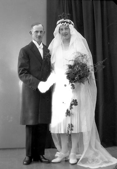 "Enligt fotografens journal nr 5 1923-1929: ""Leandersson, Arthur Prästg. Ödsmål""."