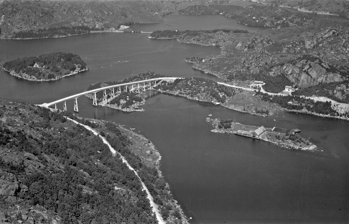Nysund, Eigerøy bro, Langholmen