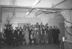 """Text till bilden: """"Luciafest hos Gullmarens Preserving Co. 1"""