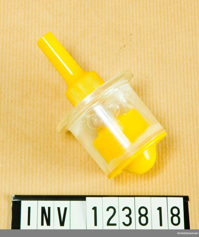 Modell av kemisk mintändare