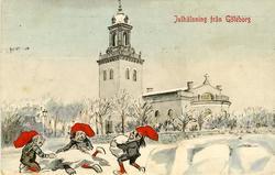 Julhälsning från Göteborg.