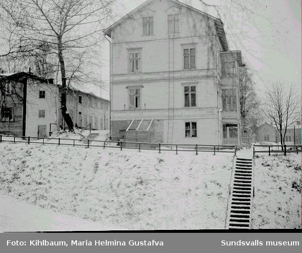 Bostadshus på Södermalm, Erstagatan 8.
