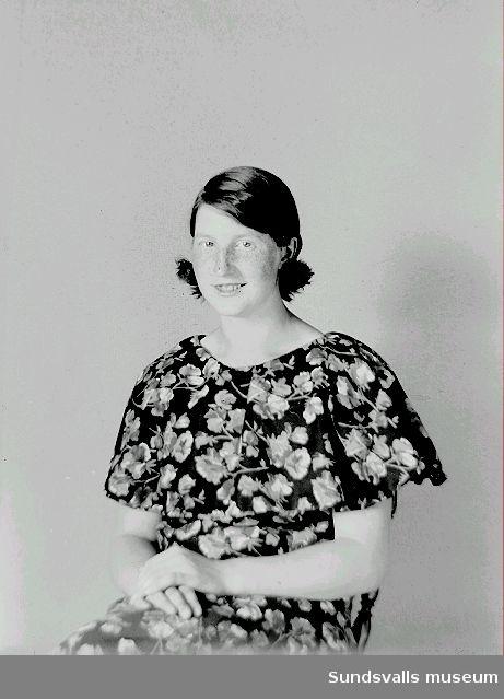 Porträtt. Kvinna