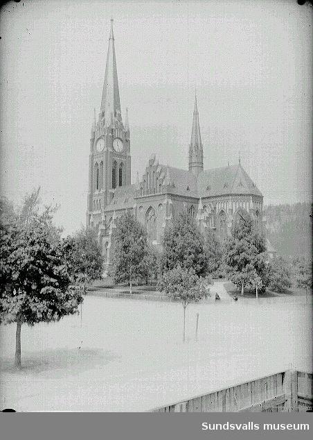 Gustav Adolfs kyrka, exteriör.