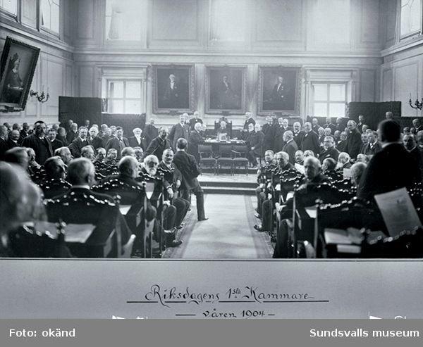 Riksdagens första kammare