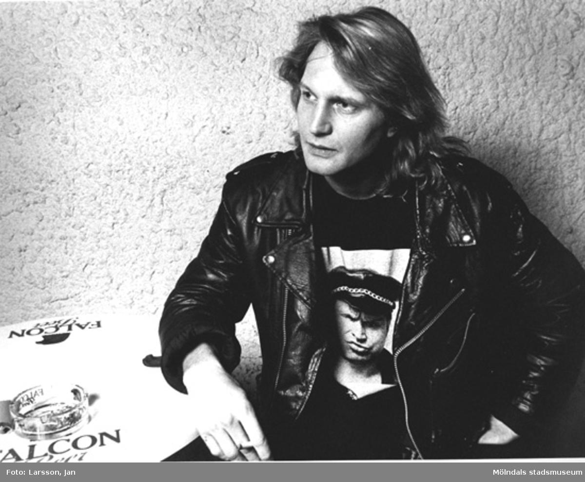 Musikern Fredrik Adlers, Göteborg 1990.