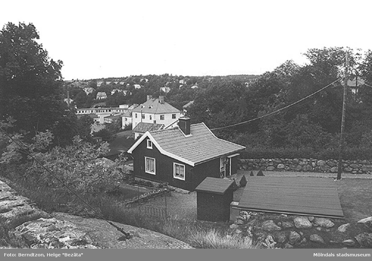 Renoverat äldre hus vid Franckeliden (Franckegatan), 1984.