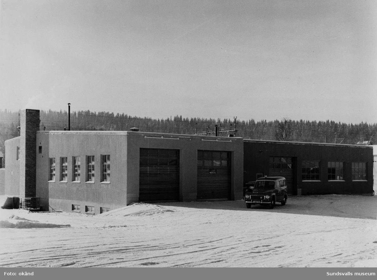 BP-stationen Långsele, Sollefteå. Köpman: Runo Carlsson.
