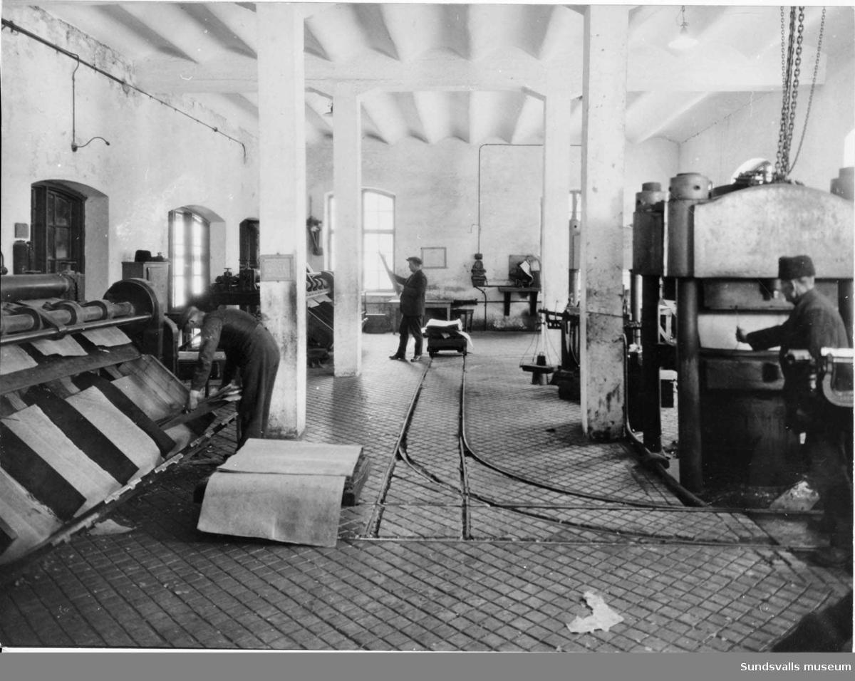 Frånö Sulfatfabrik, Packsalen.