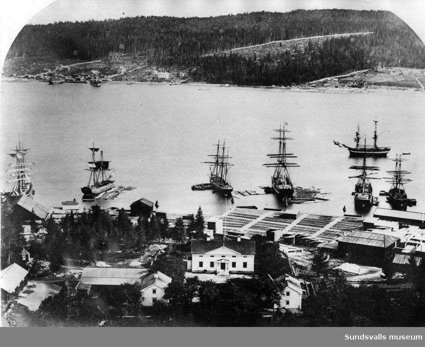 Svartviks herrgård före 1900.