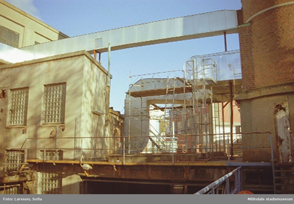 Papyrus/Stora Enso, Byggnad 14 (kraftcentral, panncentral) och byggnad 13.