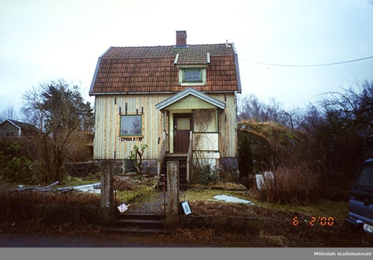 Ett bostadshus.Bigatan 5, Renen 2, Sörgården 2000-02-06.