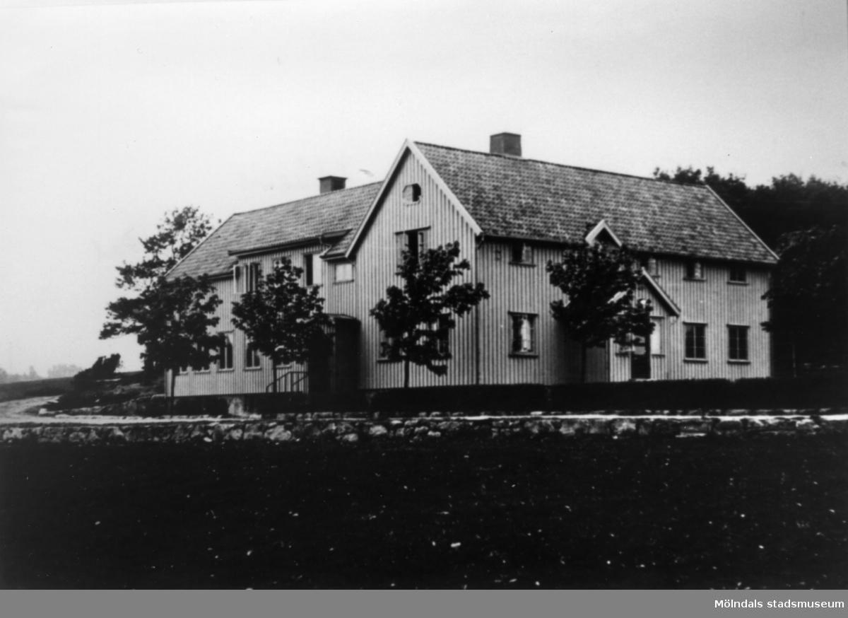Pojkarnas arbetshem på Streteredshemmet i Kållered, 1930-1940-tal.