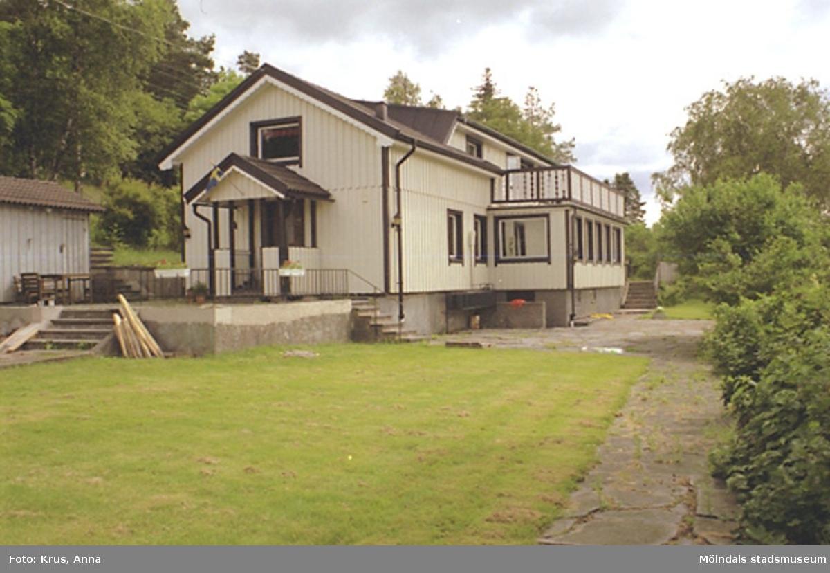 Boningshus från sydväst. Våmmedal 2:163, Lilla Våmmedal.