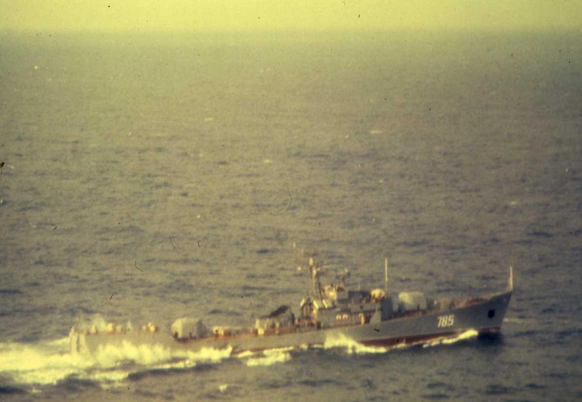 Russisk fartøy av Petya III - klassen med nr. 785.