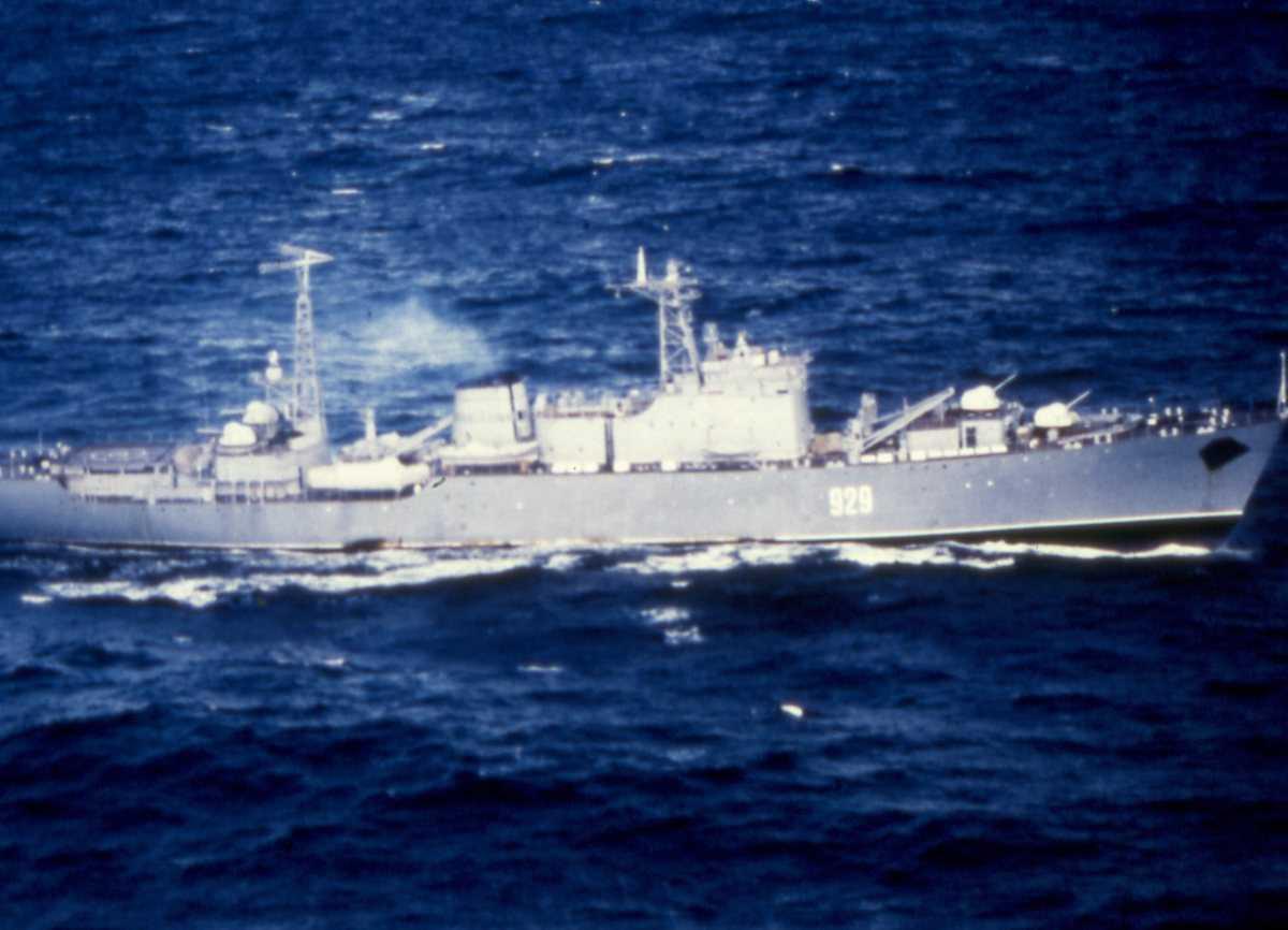 Russisk fartøy av Ugra - klassen med nr. 929.