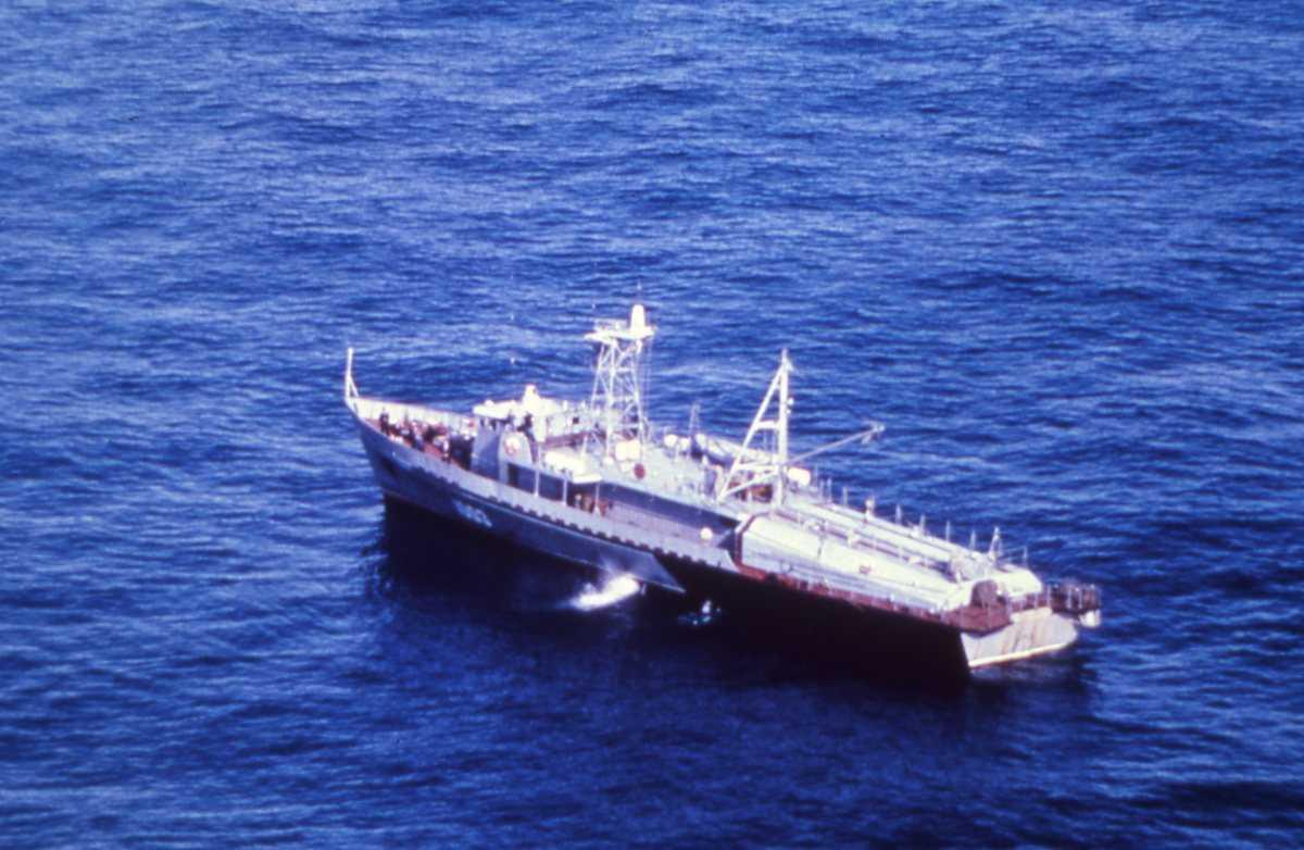Russisk fartøy av Shelon - klassen.