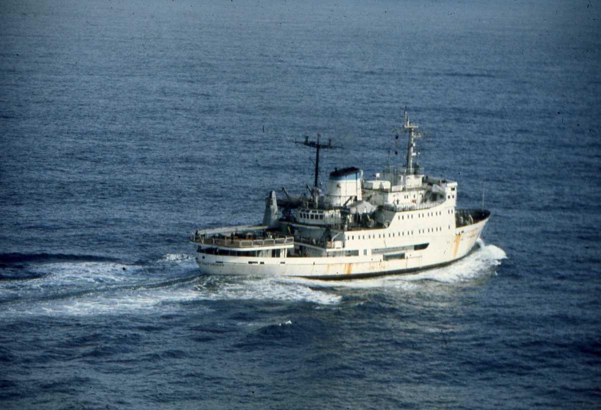 Russisk fartøy av Modifisert Susanin - klassen og heter Vladimir Kavraysky.