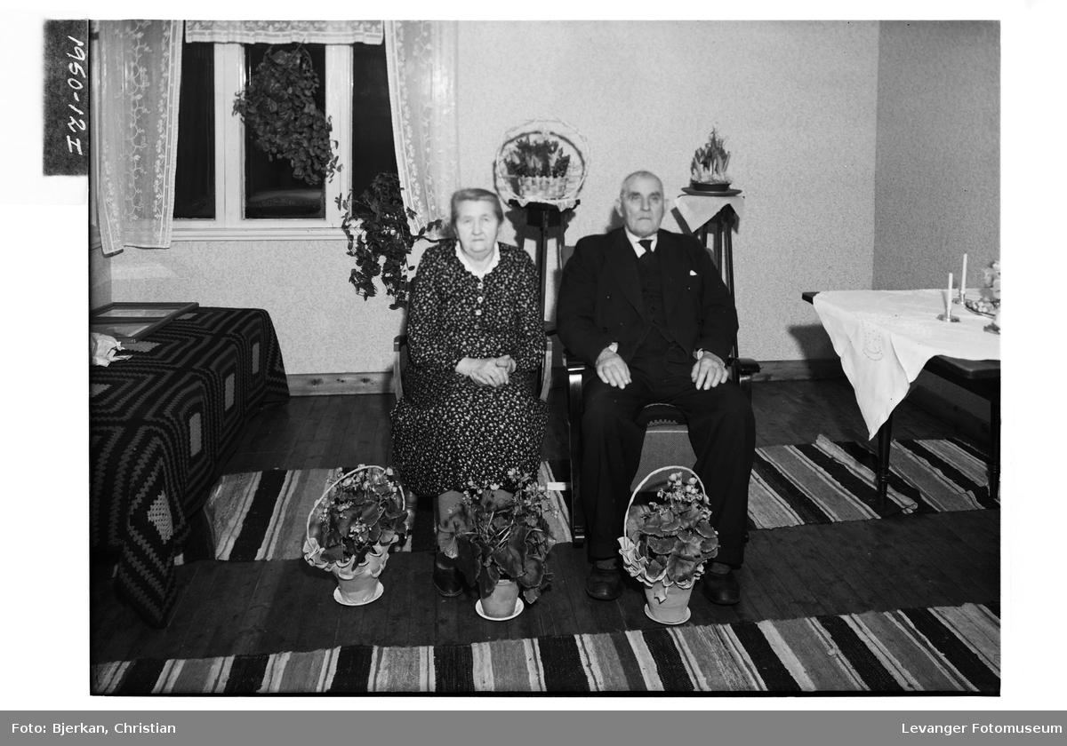 Olaf Berg med kone