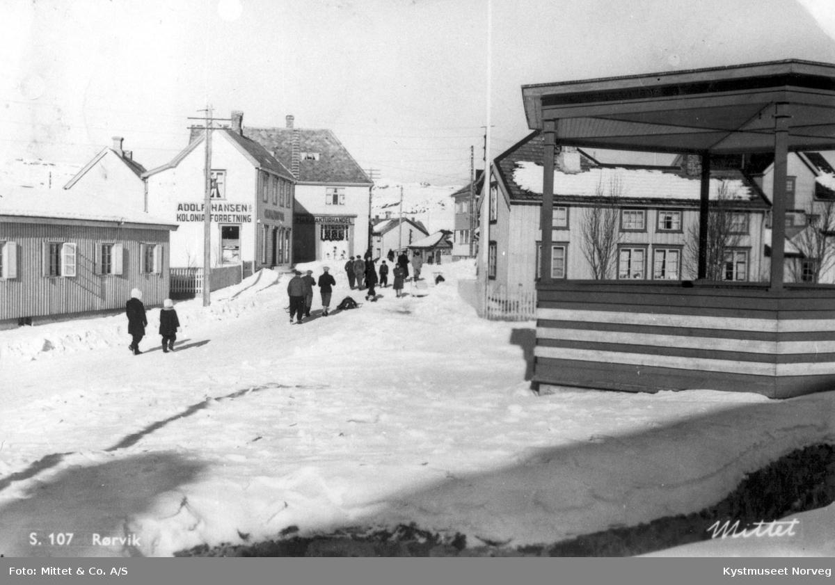 Vikna kommune, Kjøpmannsgata i Rørvik