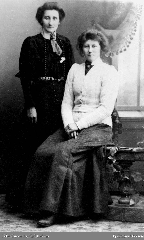 Kalma Velde Lecy og Hilda Velde
