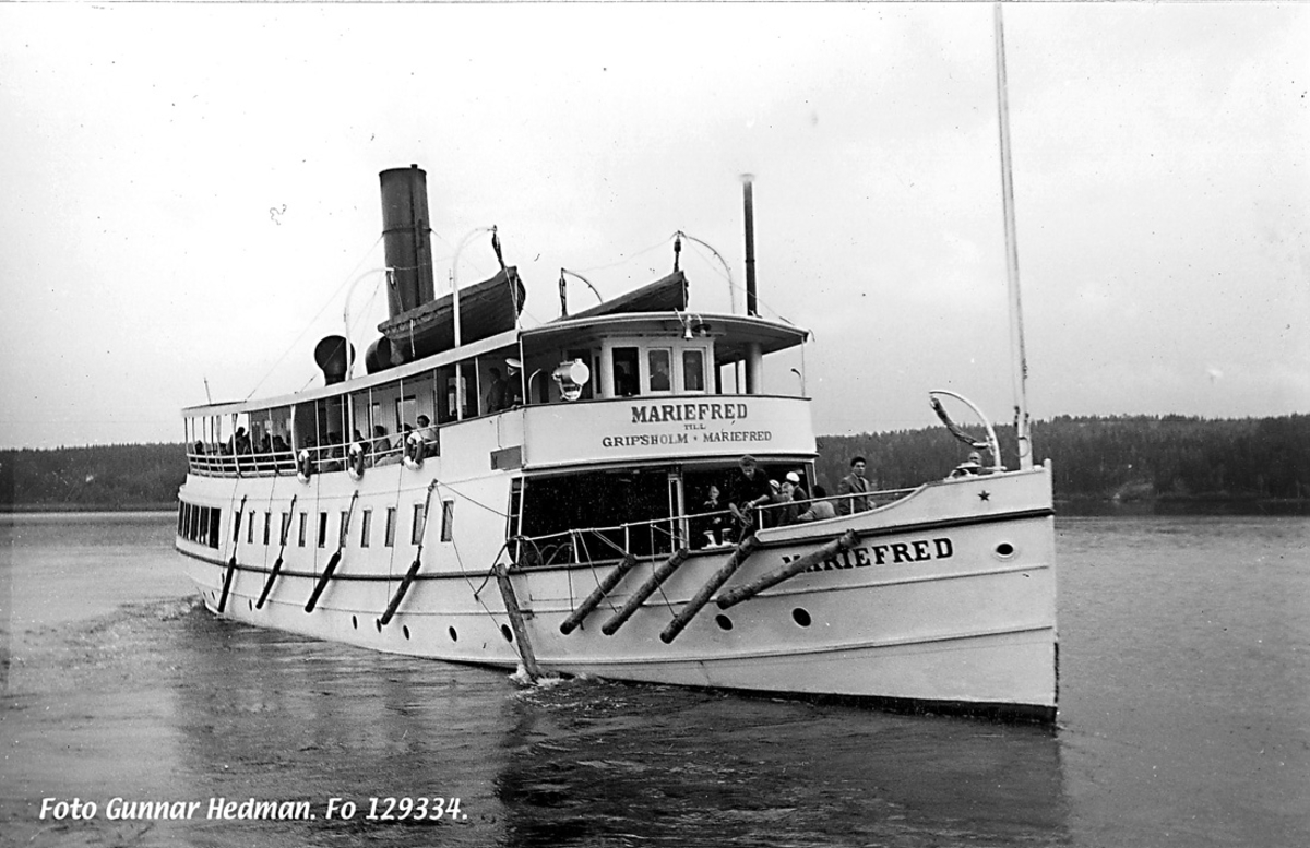 S/S Mariefred år 1953