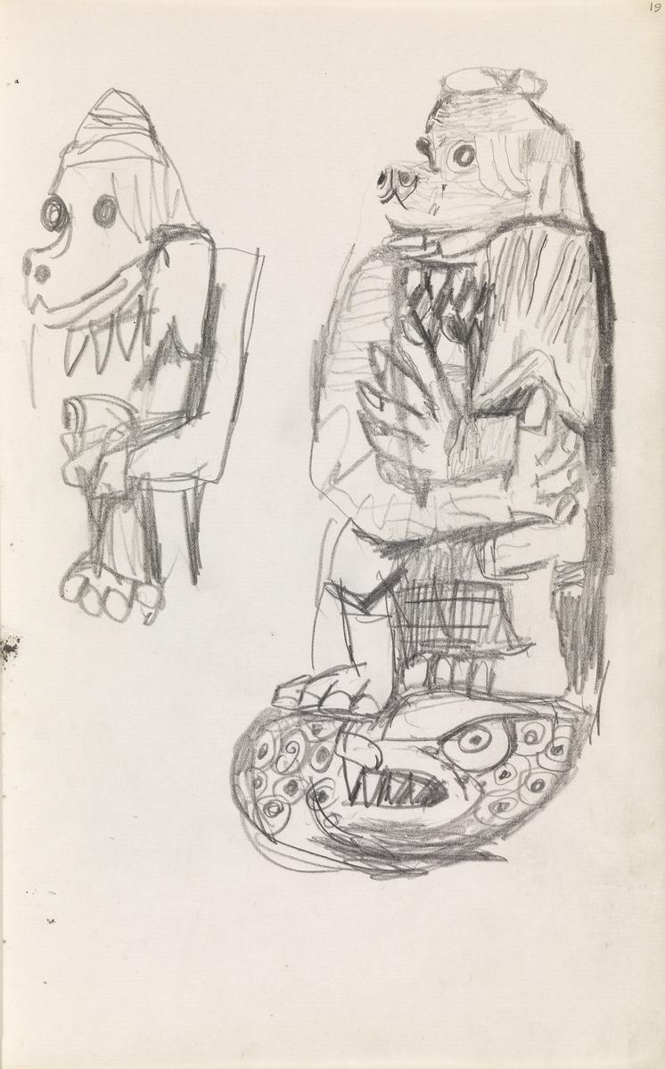 Fantasifigurer [Tegning]
