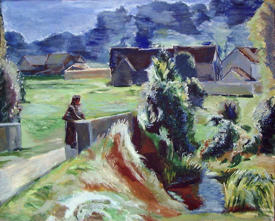 Fransk sommer [Maleri]