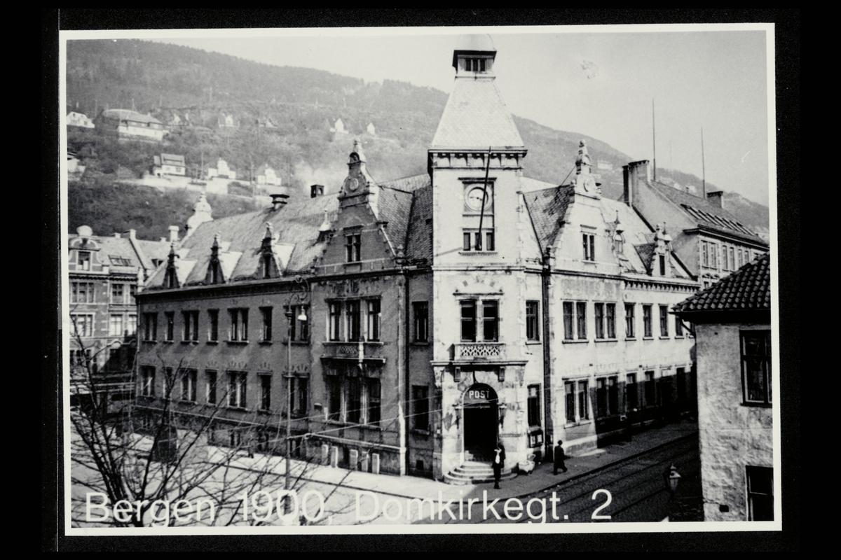 eksteriør, postkontor, 5002 Bergen, Domkirkegt. 1
