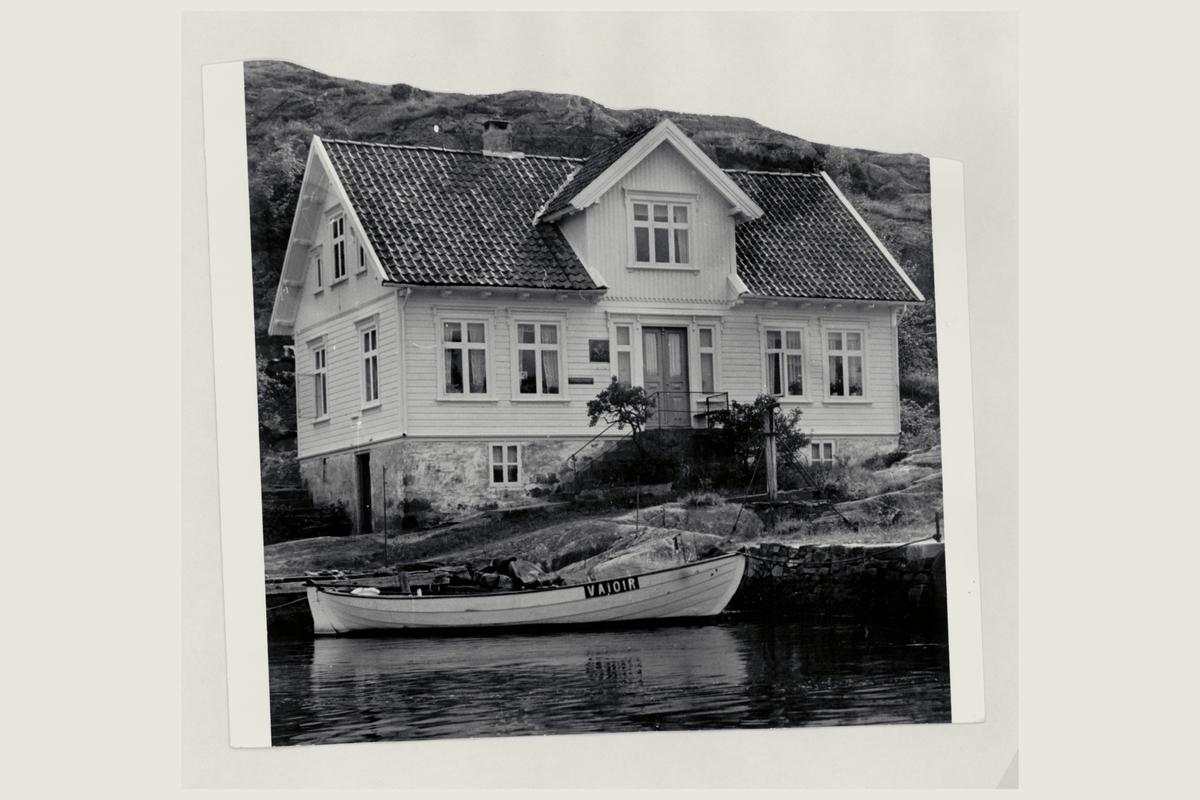 eksteriør, postkontor, 4753 Randøyane, postskilt