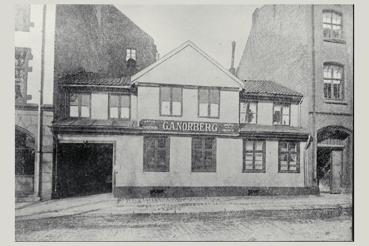 eksteriør, postkontor, Oslo Akersgaten 11