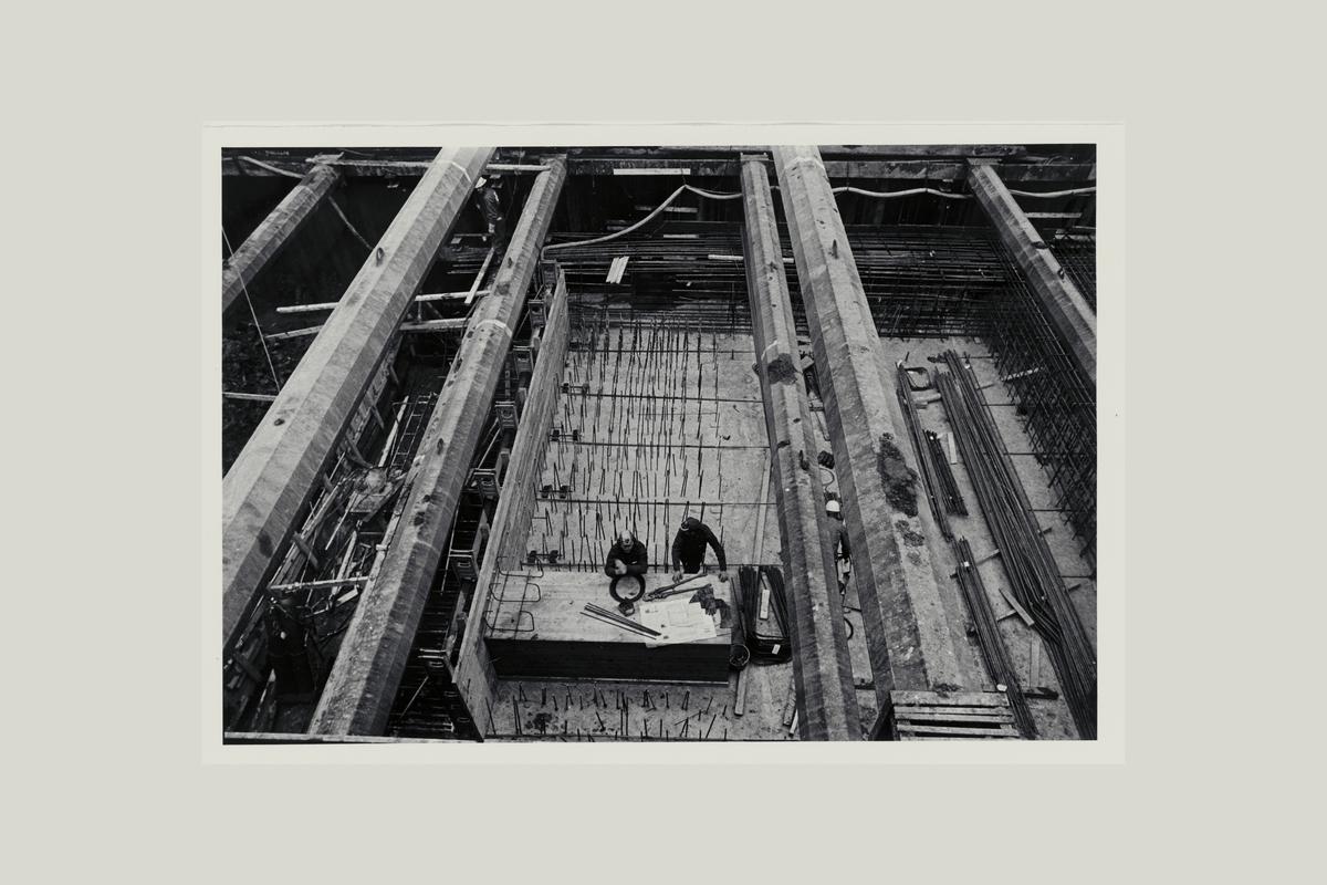 eksteriør, postterminal, Oslo, Postgiro, byggeprosess, 6. november 1972