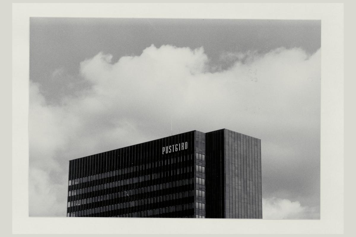 eksteriør, postterminal, Oslo, Postgiro, ferdigstilt