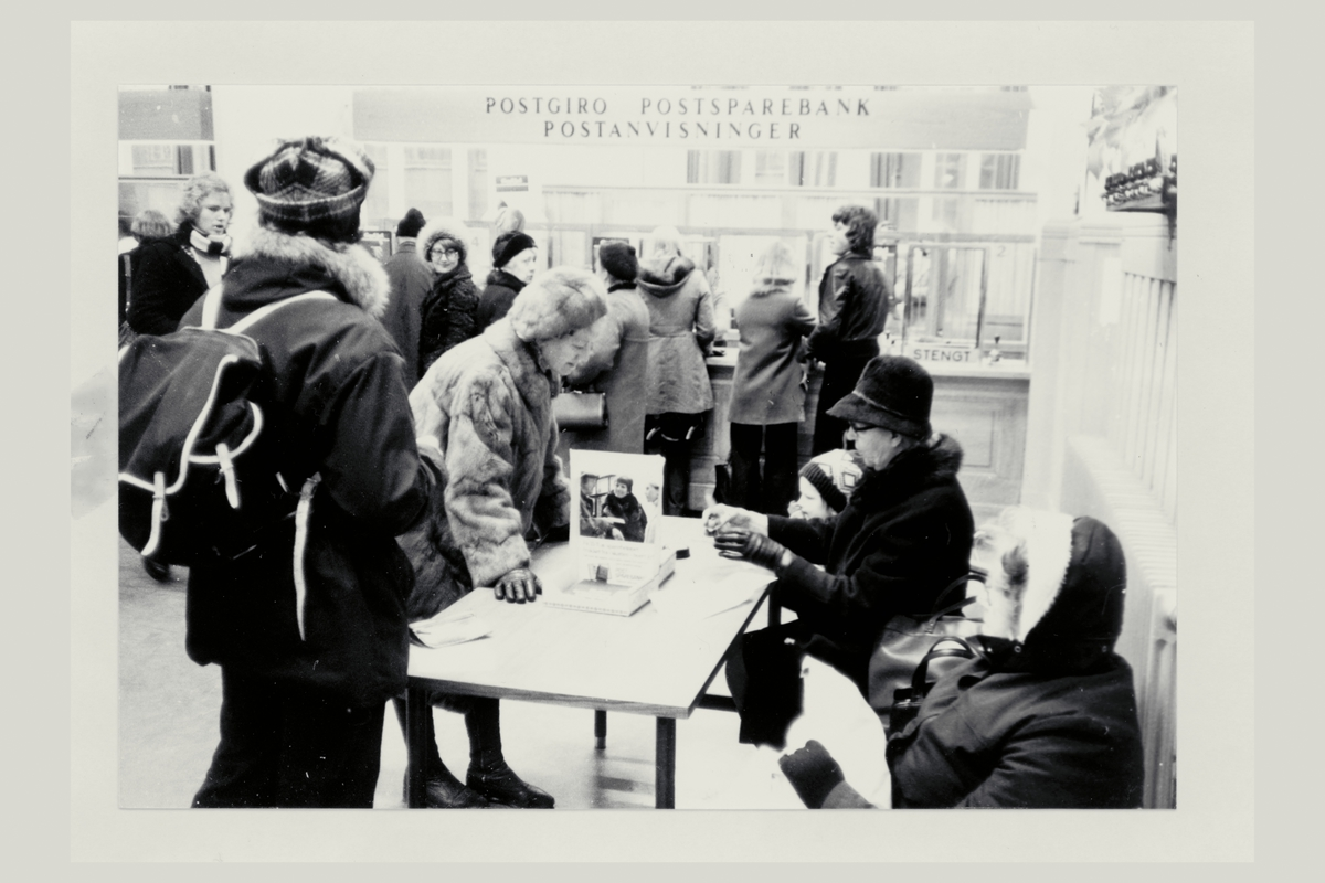 interiør, postkontor, 7007 Trondheim, kunder