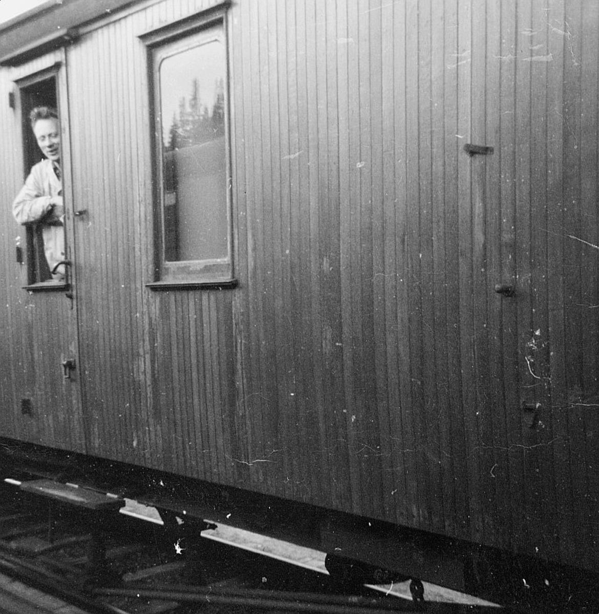 transport, tog, Trondheim - Steinkjer ruta, tog 463/66, mann