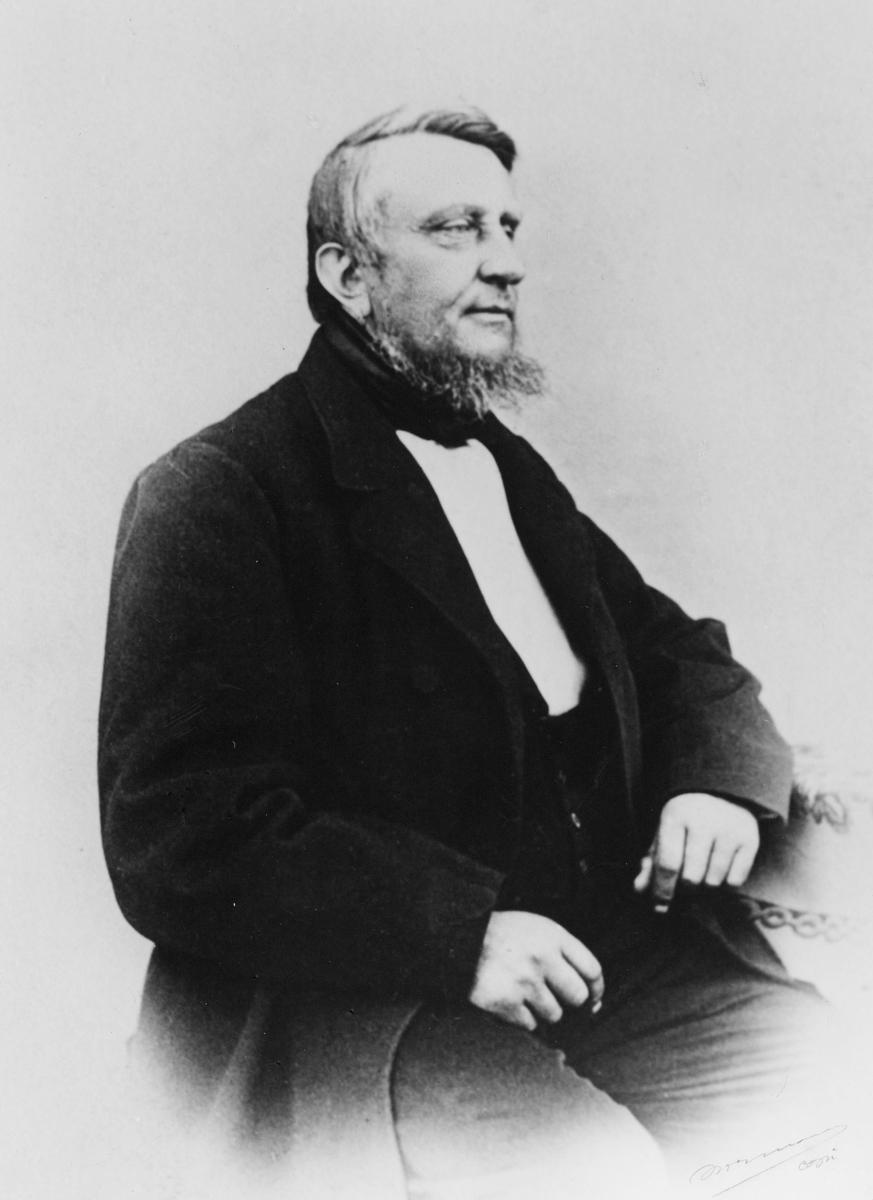 portrett, postmester, Ole Markussøn Hegge